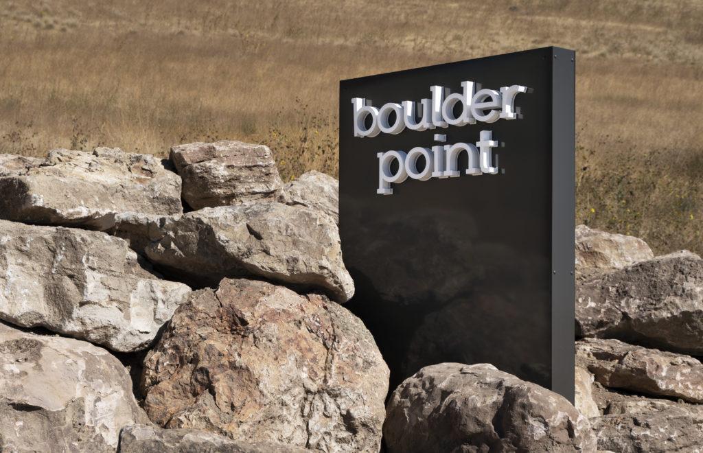 Boulder Point Sign